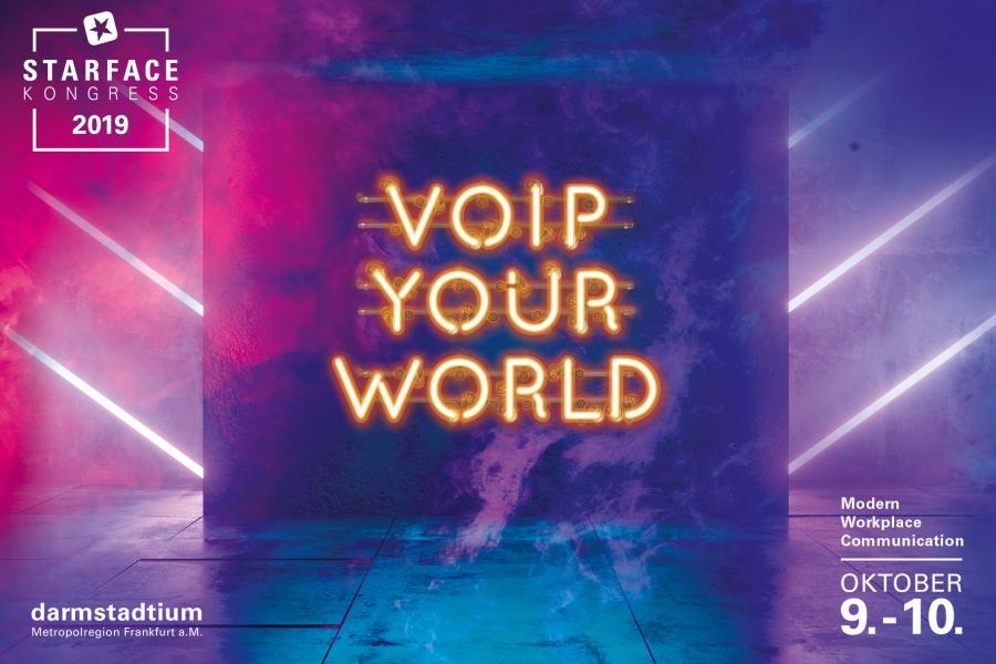 VOIP YOUR WORLD – Modern Workplace Communication: STARFACE lädt die UCC-Branche zum Kongress