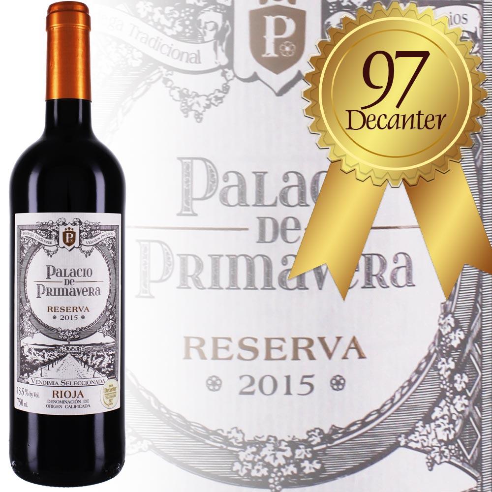 Hohe Wertung der Wein Zeitung Decanter für Rioja Reserva