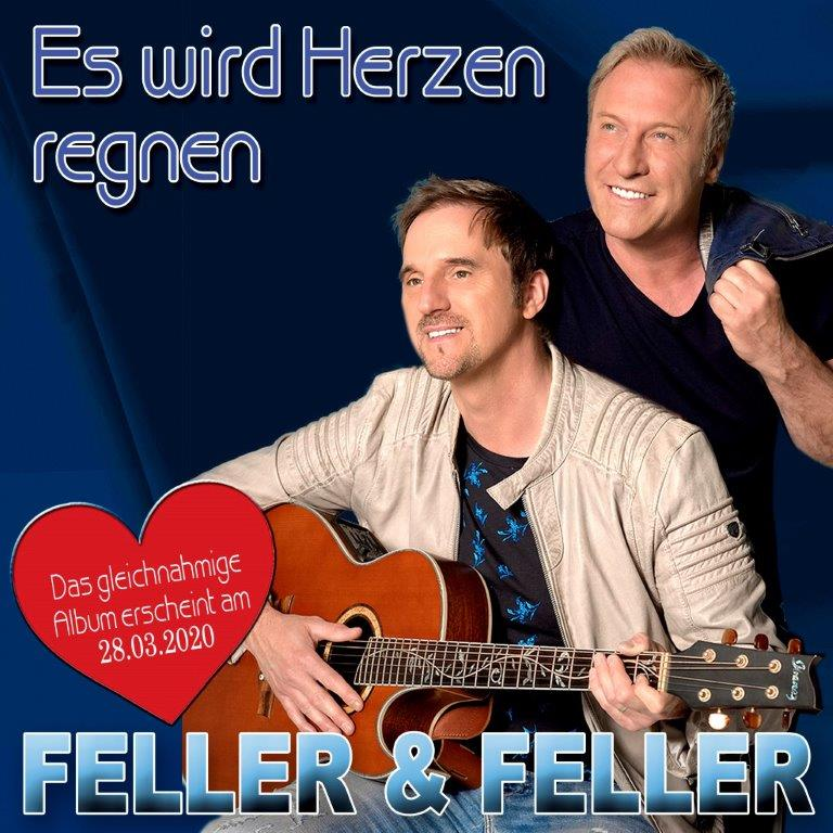 Es wird Herzen regnen-die neue Single von Feller&Feller