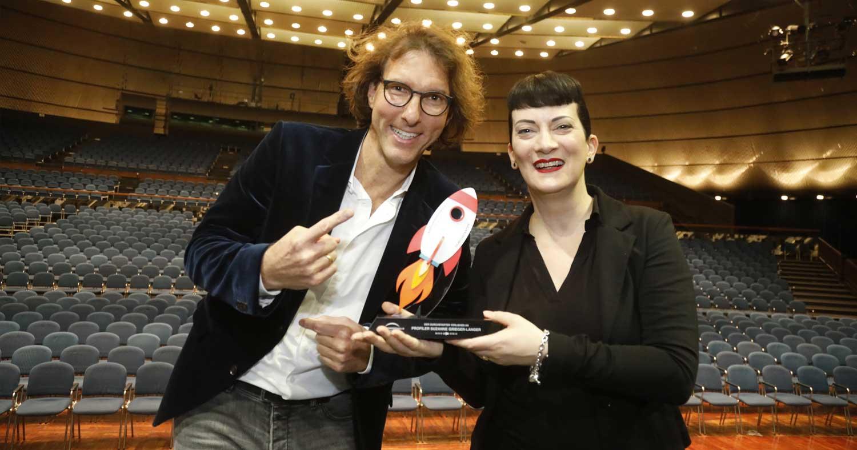 """Jahrhunderthalle verleiht """"Durchstarter"""" an Profiler Suzanne Grieger-Langer"""