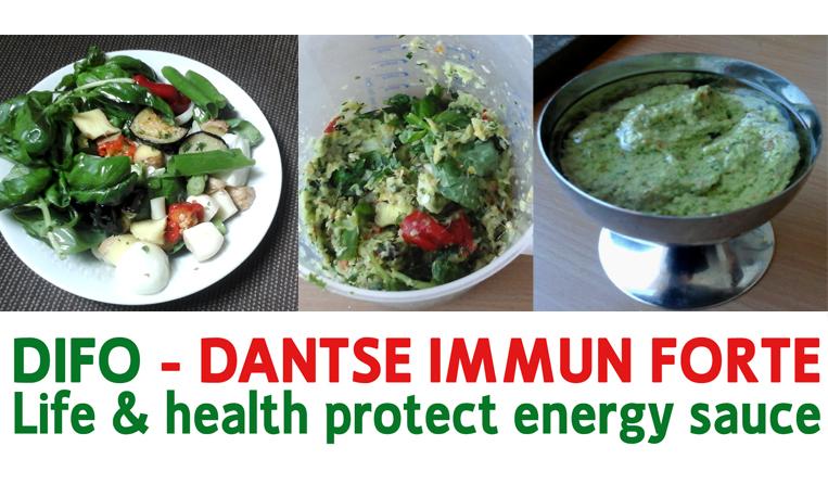 "Ein besonderes Geschmacks- und Gesundheitserlebnis: ""DIFO: Dantse Immun Forte – Life & Health Protect Energy Sauce"""