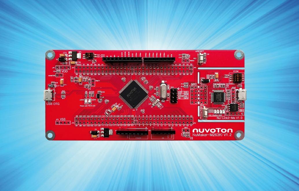 Sichere ARM Cortex-M23 Low-Power µC von Nuvoton
