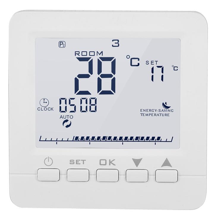 revolt WLAN-Thermostat für Fußbodenheizung, Sprachbefehl