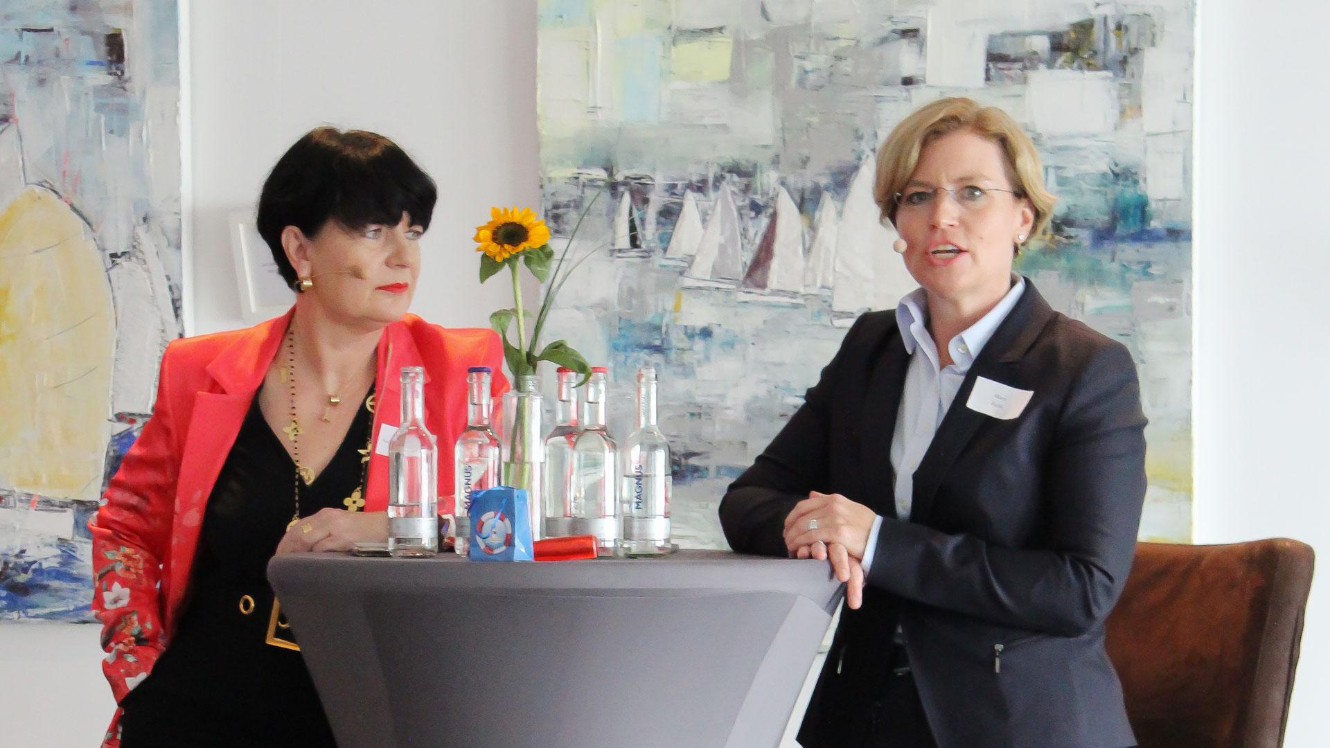 Marit Zenk als Talk-Gast beim FDP Ortsverband Strande