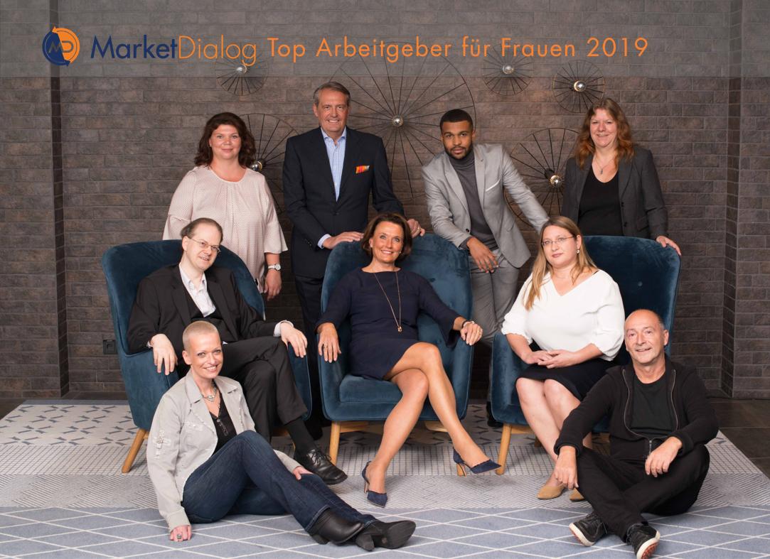 MarketDialog als Top Arbeitgeber für Frauen gekürt