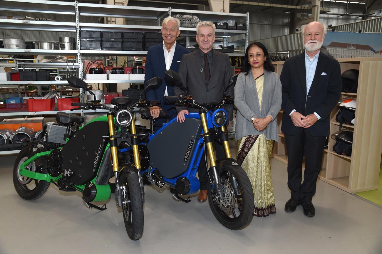 Elektromobilität: eROCKIT meets India