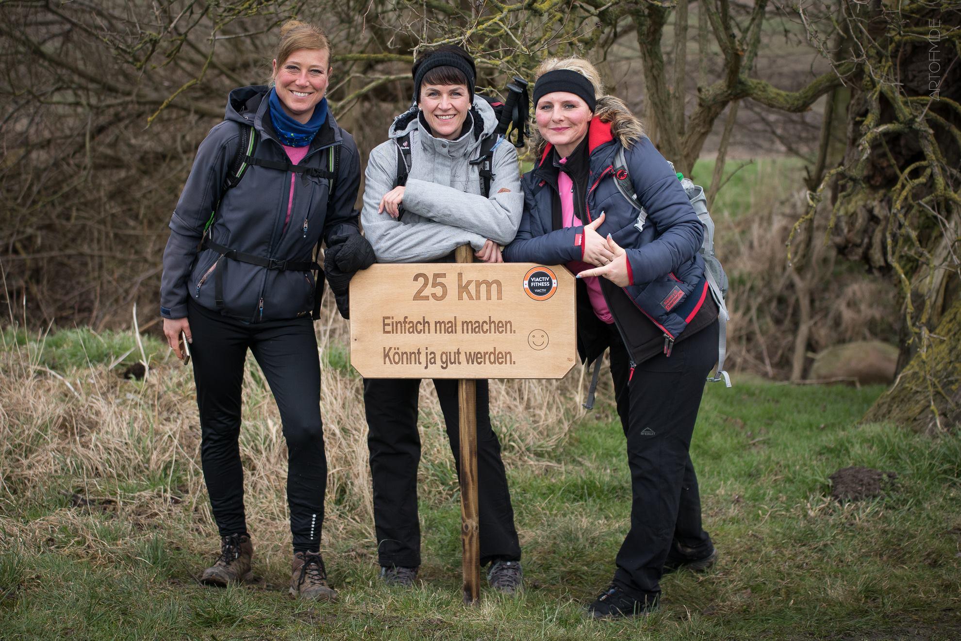 Erste große Hiking-Challenge auf der Ostseeinsel Fehmarn