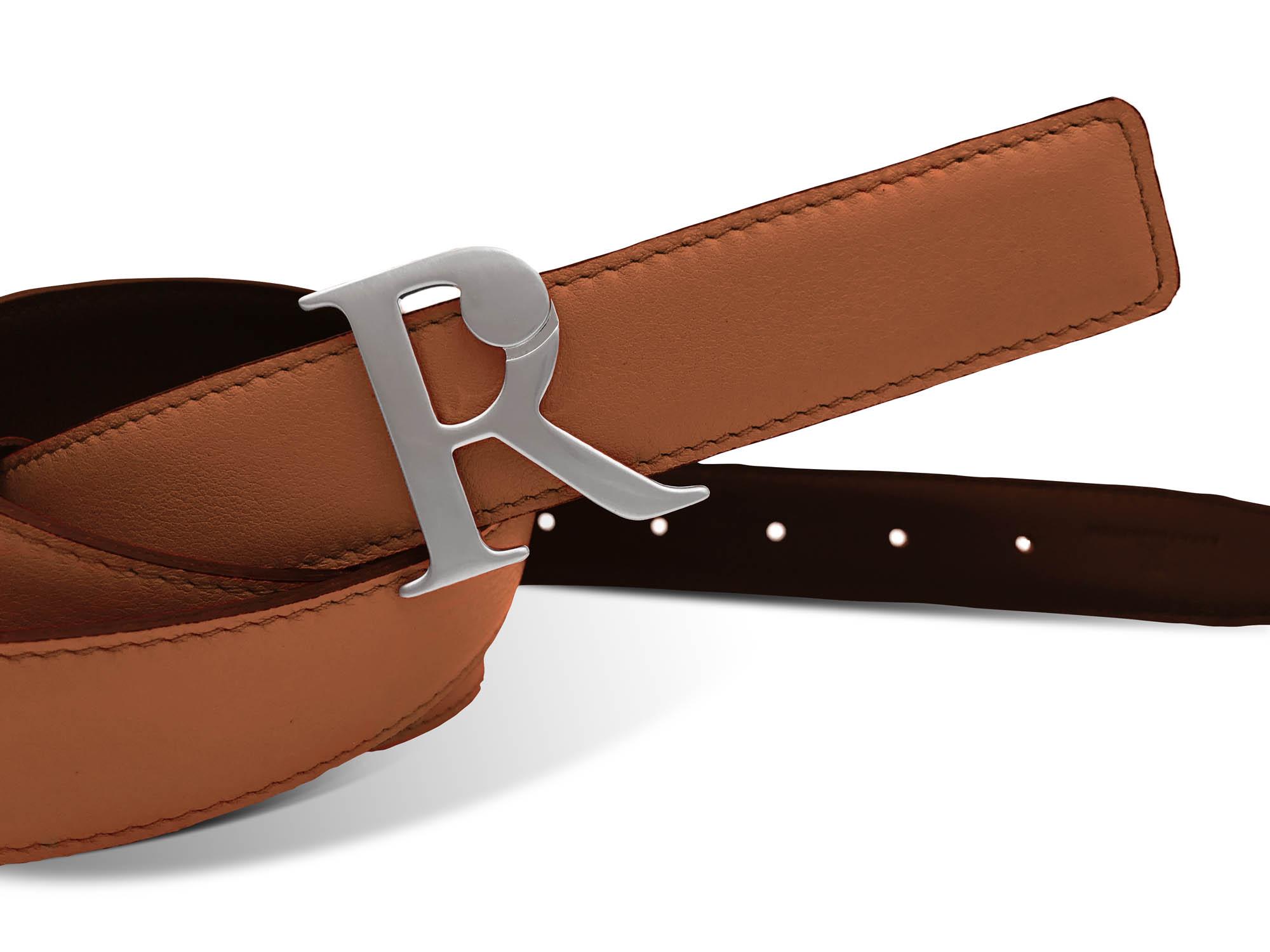 Zeitlose Luxusgürtel: Raya Rosenstein Wendegürtel in zwei neuen Brauntönen