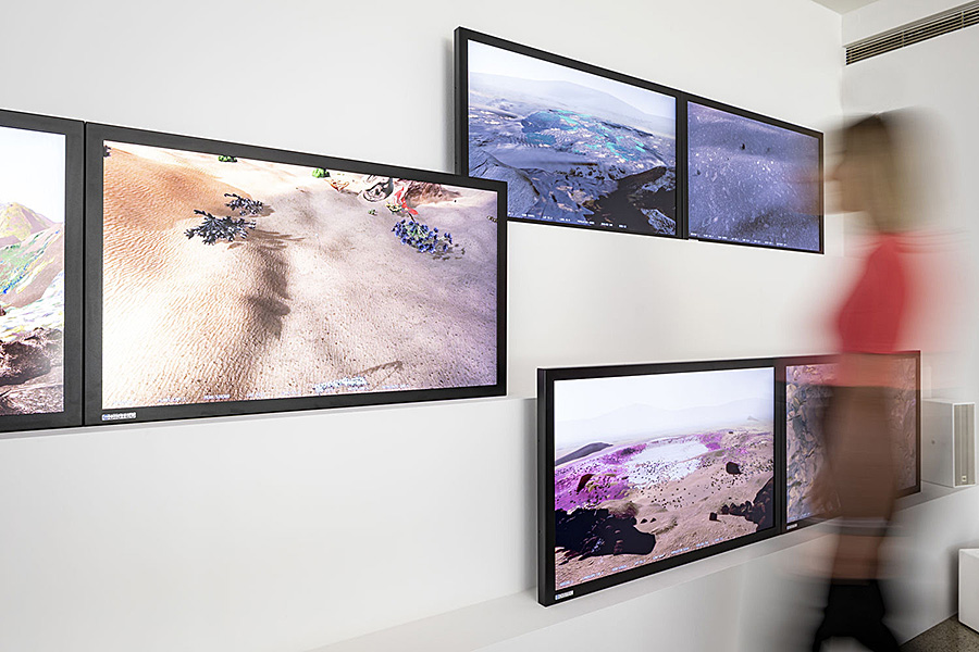 """Distec sponsert Kunstausstellung """"Better Nature"""" von Alexandra Daisy Ginsberg"""