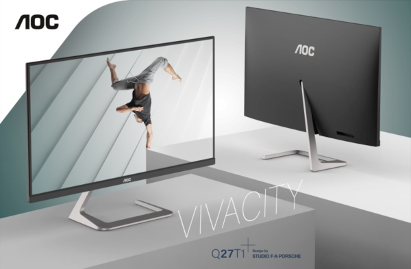 Technologie: AOC – Design: Studio F. A. Porsche: Display-Traumkombi ab sofort erhältlich