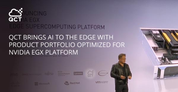 """QCT bringt KI """"at the Edge"""": mit Systemen, die für die NVIDIA EGX-Plattform optimiert sind"""