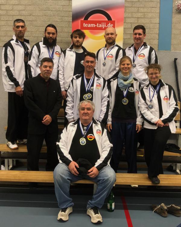 Team Taiji Deutschland erfolgreich auf niederländischer Meisterschaft