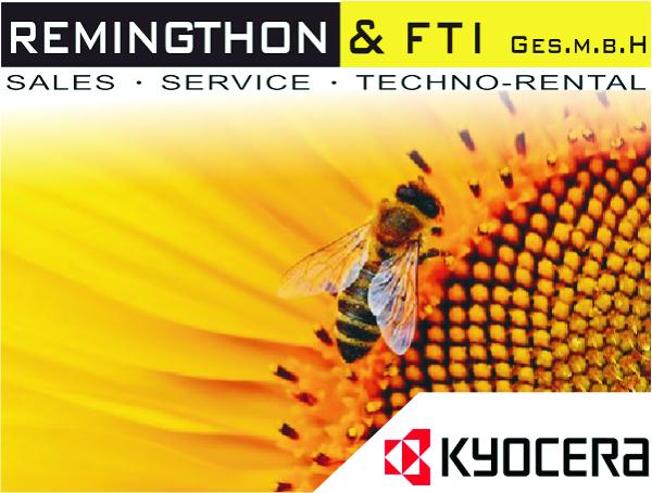 Aktiver Umweltschutz, Drucker von Kyocera – Remingthon & FTI GmbH informiert