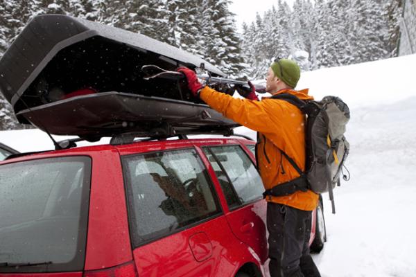 Mit dem Auto ins Skigebiet – Saisonale Verbraucherinformation der ERGO