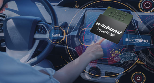 HyperRAM Speicher mit neuem 1Gbit und einer maximalen Datenübertragungsrate von 83MB/s