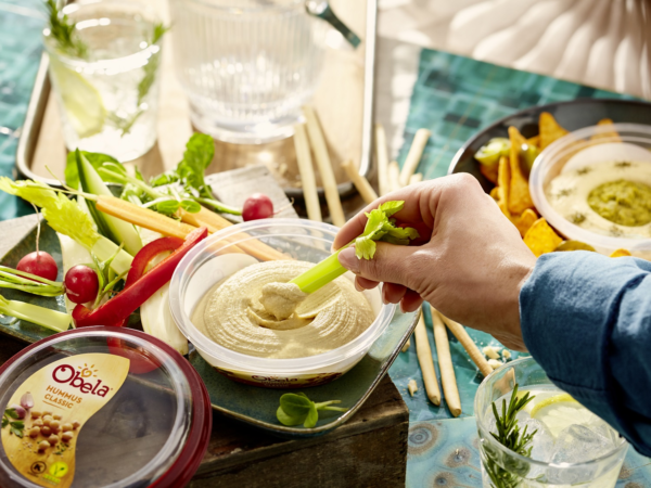 """Ökotest: """"Sehr gut"""" für Obela Hummus Classic!"""