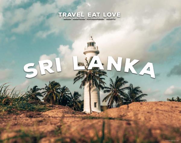 Travel Eat Love veröffentlicht Sri Lanka Reiseführer