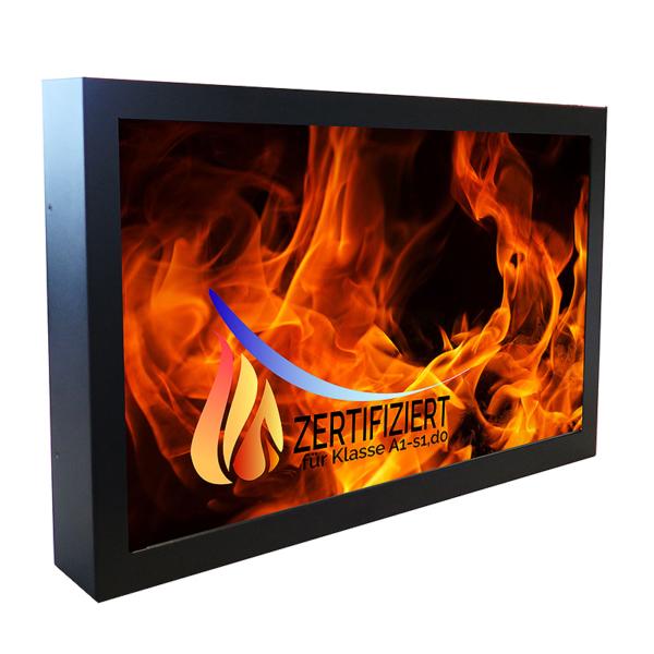 Höchste Brandschutzklasse für BLO-Line-Monitore