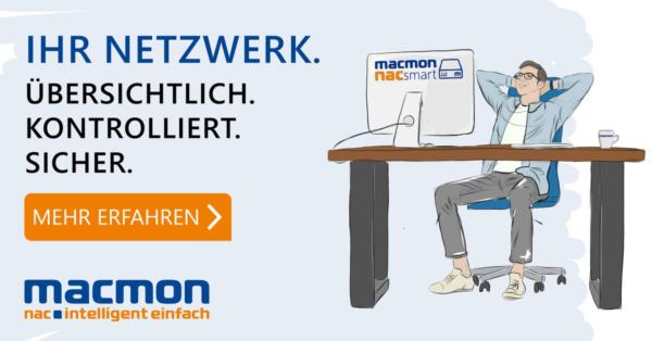 macmon NAC und ManageEngine – Effiziente Integration sorgt jetzt für noch mehr Netzwerksicherheit