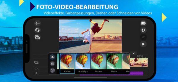 CyberLink PowerDirector iOS für kreativen Videoschnitt auf iPhone und iPad