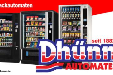 Snack - Mobil in Köln unterwegs. Snackautomaten von Dhünn, Köln